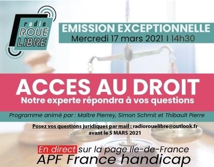 #emission, #radiolibre, #droits, #accessibilité